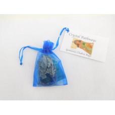 Indigo Gemstone Chakra Bag